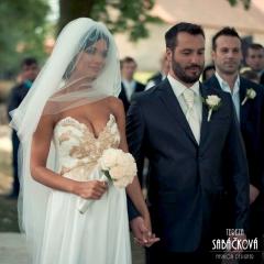 svatební šaty Tereza Sabáčková - Gabriela